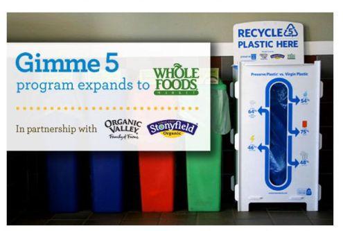 Recycling #5 Plastic: Preserve Gimme 5 Program